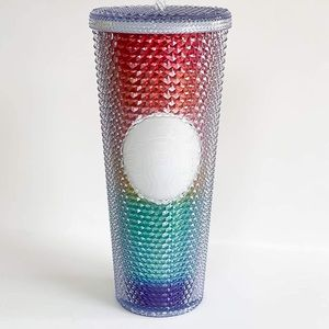 Starbucks sold out  2020 tumbler cup NEW Rainbow